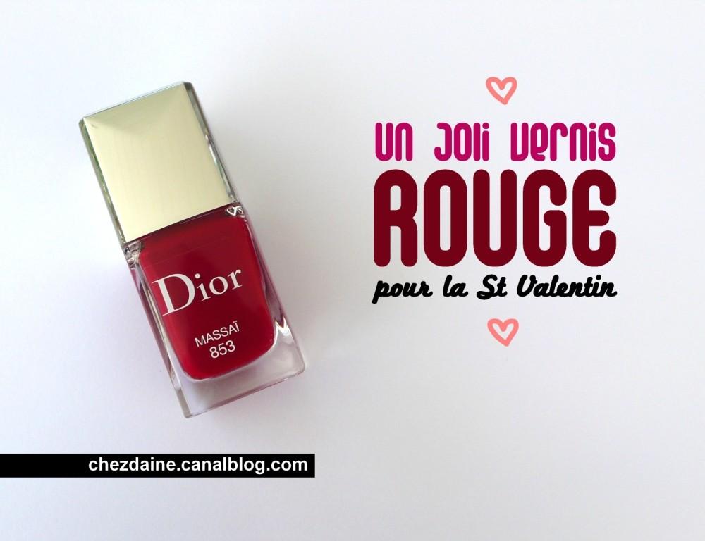 Revue vernis à ongles - Massai Dior