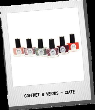 idées-cadeau-noel-beaute-coffret-6-vernis-a-ongles-ciate