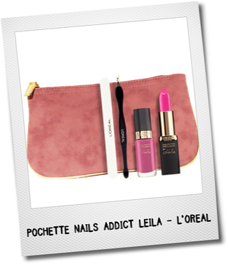idées-cadeau-noel-beaute-femme-pochette-collection-exclusive-nails-addict-leila-l'oreal