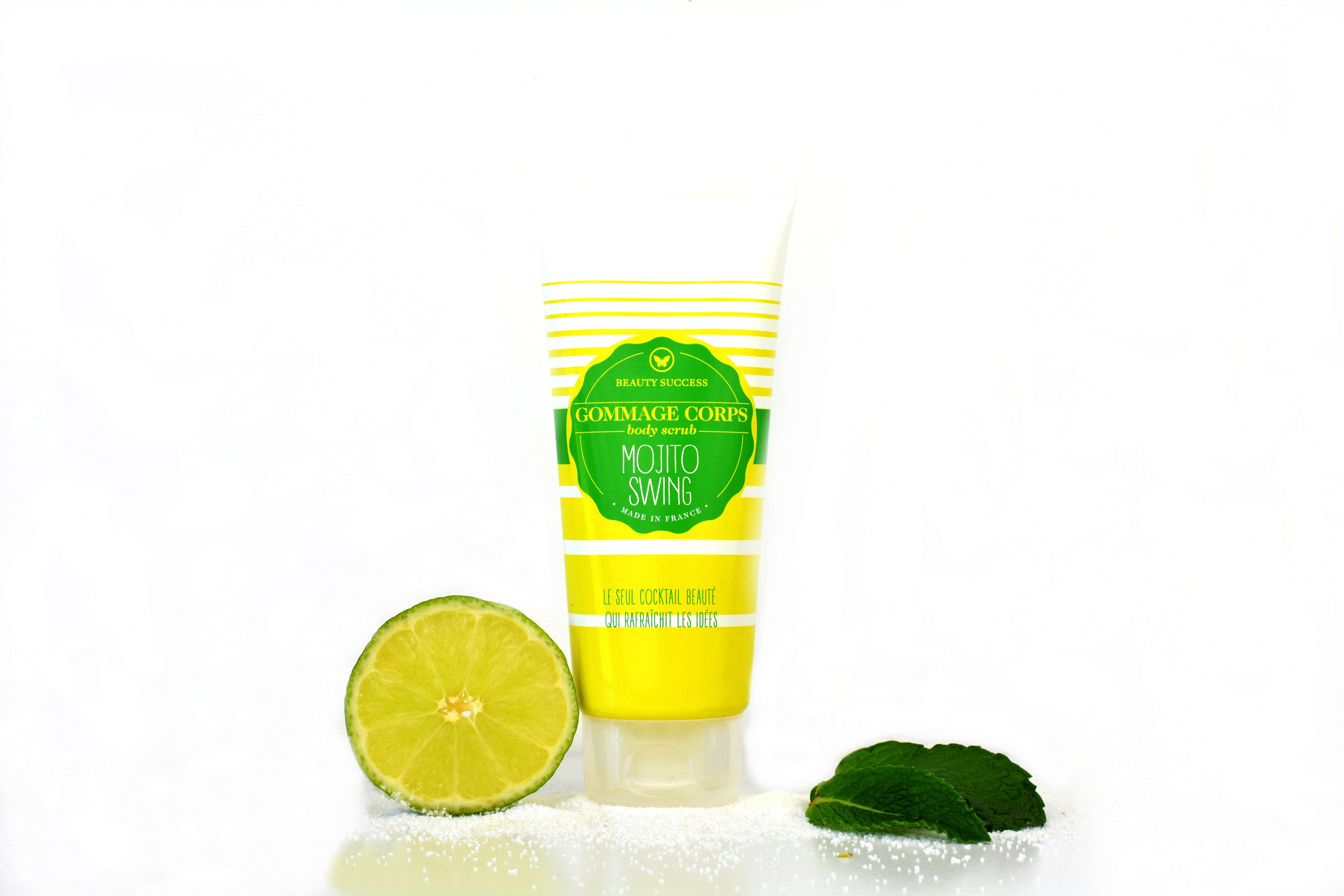 gommage corps citron