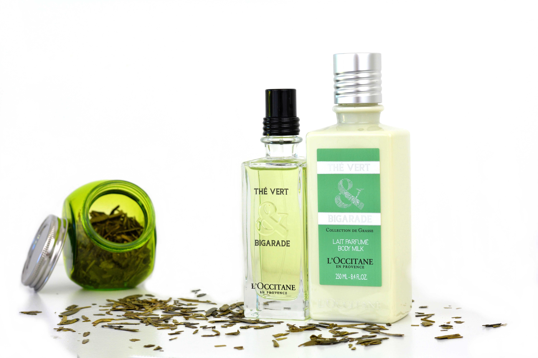 produits beauté thé vert