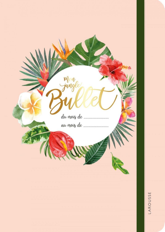 cadeau fete meres 2018 pas cher tropical bullet journal