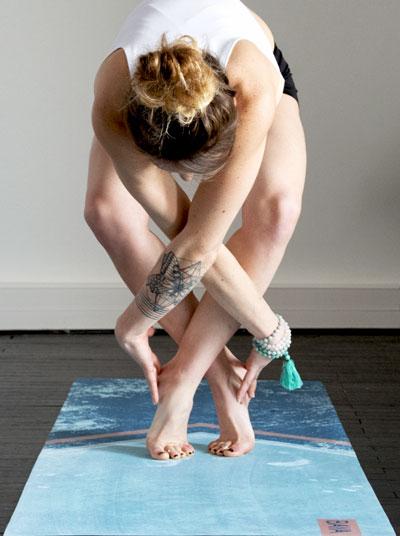 cadeau fete meres 2018 tapis yoga tendance